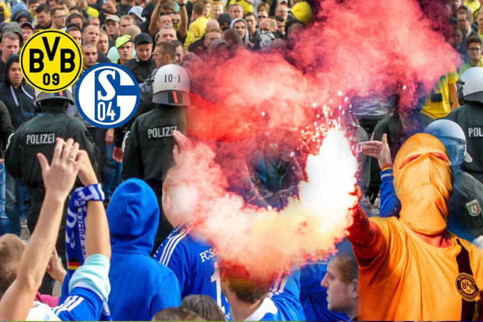 BVB-Ultras greifen Schalke-Fanclub auf Raststätte an, ohne Rücksicht auf Kinder und Frauen!
