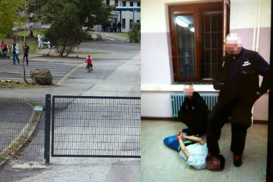 Täter vor Gericht: Wachleute quälten Flüchtlinge in Unterkunft