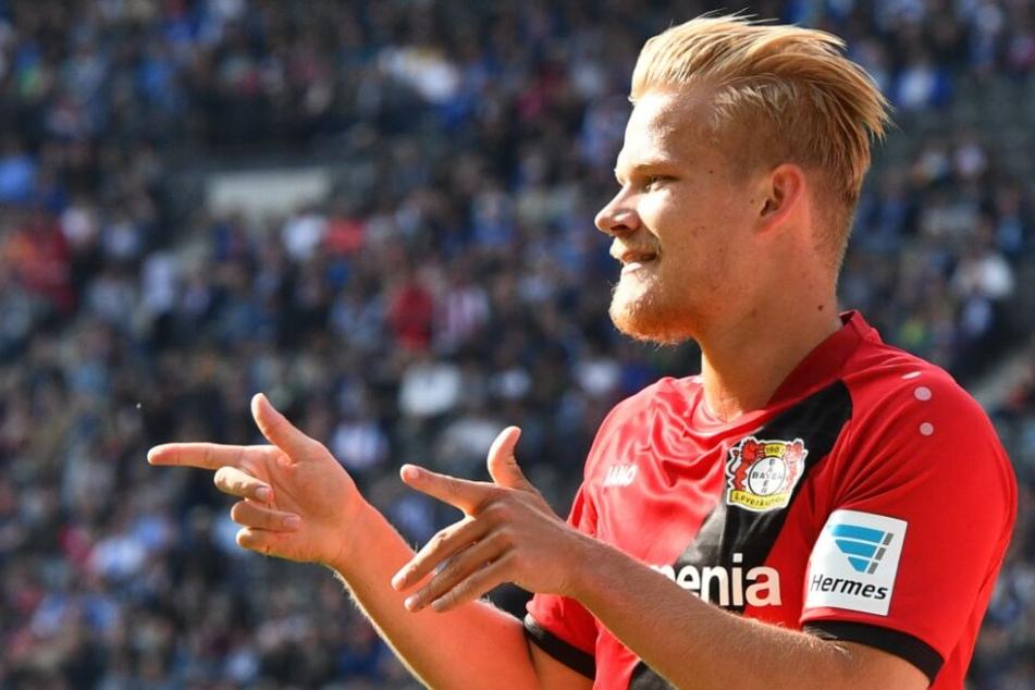 Joel Pohjanpalo stürmt ab sofort für den HSV.