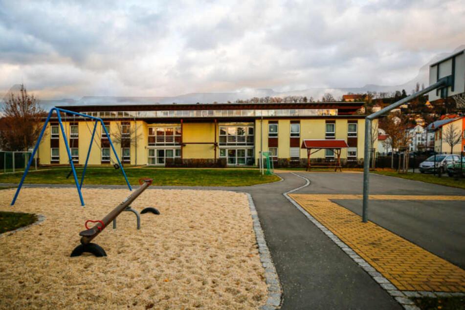 Das Wohnheim für behinderte Kinder und Jugendliche in Pirna.