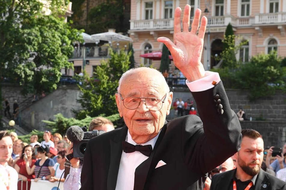 Regisseur Vaclav Vorlicek (88) sprach noch einmal mit seinem Aschenbrödel.