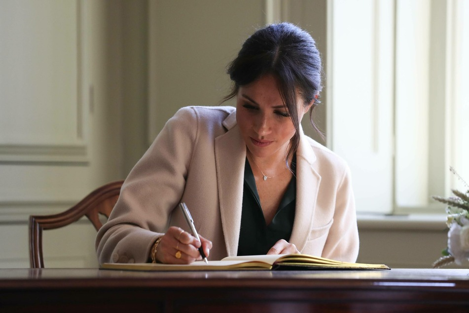 Duchess Meghan Markle has become an author. (Archive image)