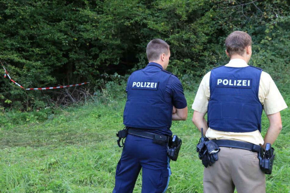 Spaziergänger hatten das Skelett vor eineinhalb Wochen in einem Wald gefunden. (Symbolbild)