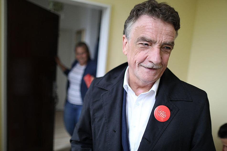 SPD-Landeschef Michael Groschek (60) ist mit dem Abschneiden seiner Partei nicht zufrieden.