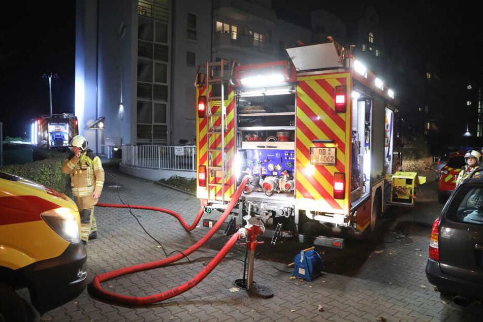 Weiter konnte die Feuerwehr nicht fahren.