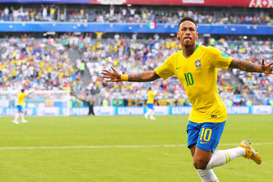 Neymar rockt! Brasilien stürmt gegen Mexiko ins Viertelfinale