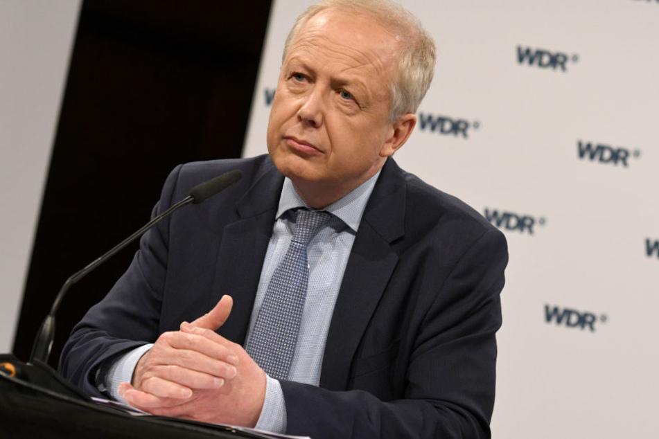 Tom Buhrow (59) muss am Dienstag im WDR-Rundfunkrat zu den aktuellen Berichten Stellung beziehen (Archivbild).