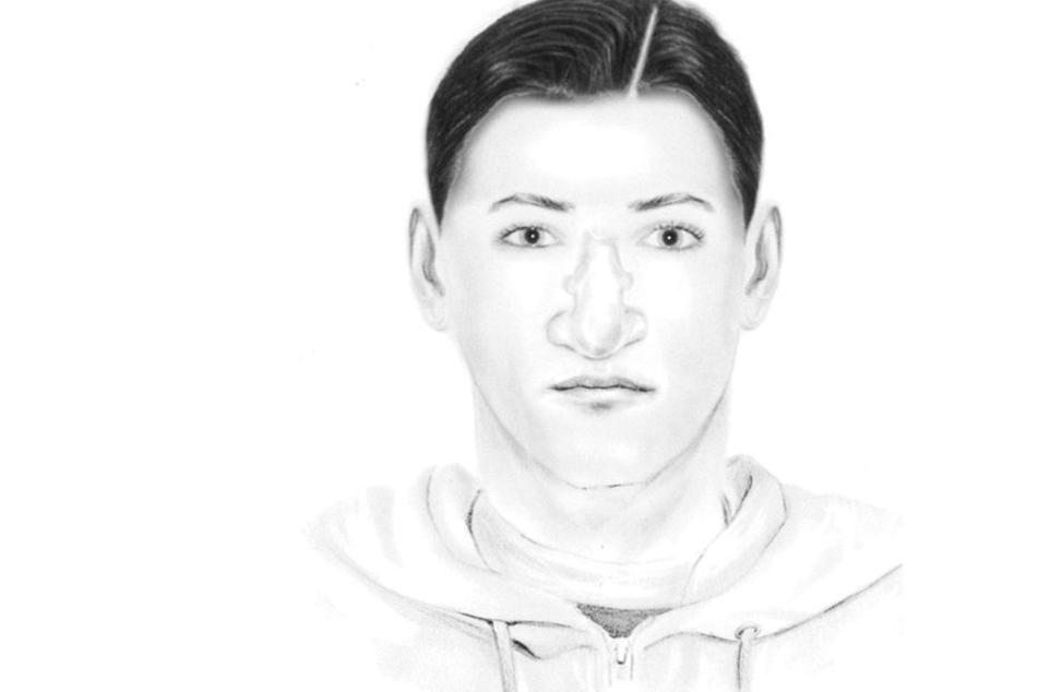 Mit diesem Phantombild sucht die Polizei Berlin nach einem der Einbrecher.