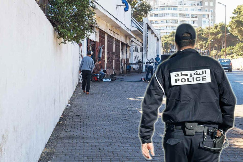 Die Messerattacke ereignete sich in der marokkanische Hafenstadt Tanger.