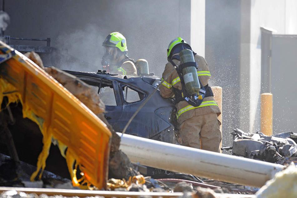Die Rettungskräfte konnten nur noch Leichen aus den Trümmern bergen.