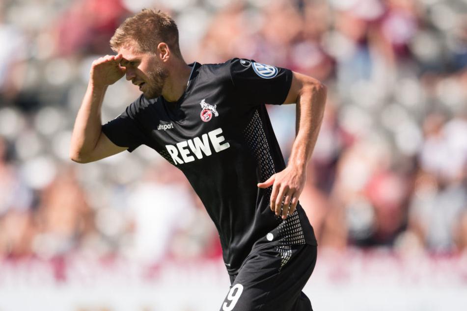 Lupenreiner Hattrick: Simon Terodde (30) wandelte einen 0:1-Rückstand in eine 3:1-Führung um