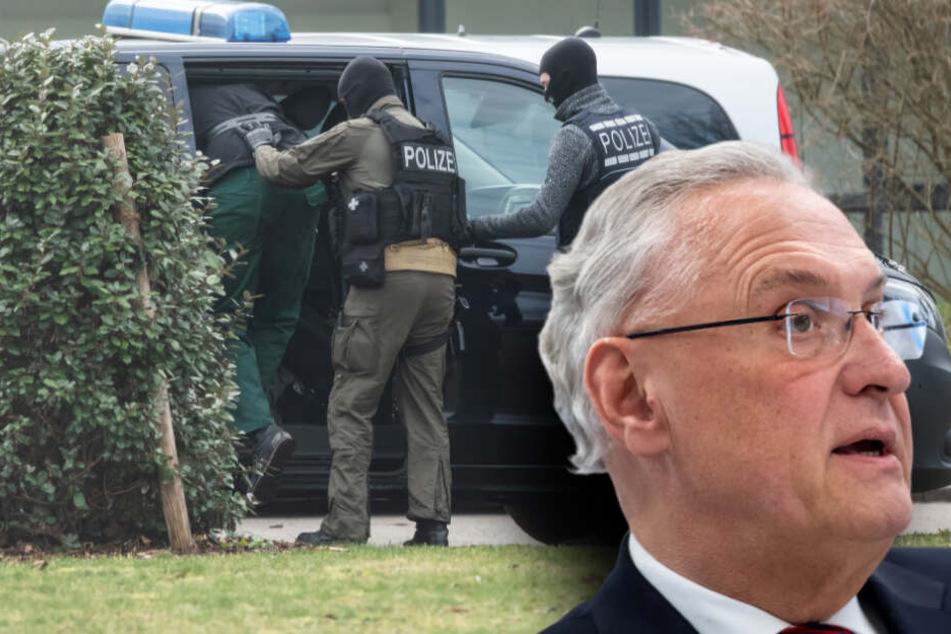 Rechtsradikale Terrorzelle: So reagiert Innenminister Herrmann auf die Anschlagspläne