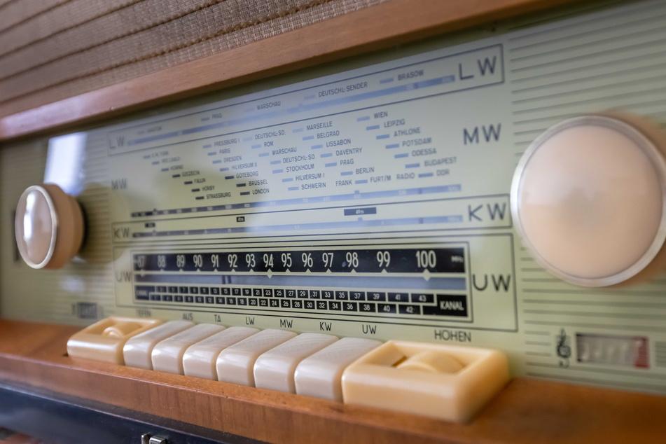 """Ein """"Stern""""-Radio, Modell """"Nauen"""", aus den frühen 1960ern."""