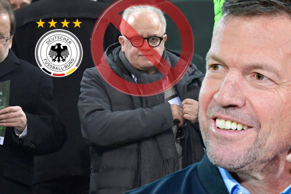 DFB-Chaos! Rekord-Nationalspieler Matthäus will Rummenigge und Völler als Bosse