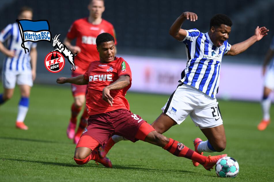 Hertha feiert mit Nullnummer den Klassenerhalt: Schwache Kölner müssen bangen!