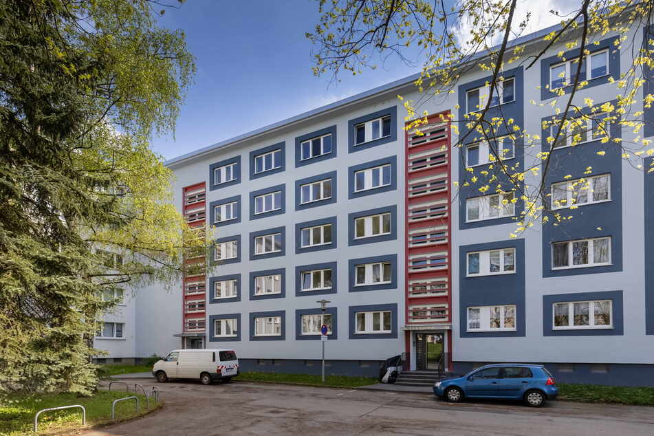 Das umstrittene Wohnhaus in der Yorckstraße.