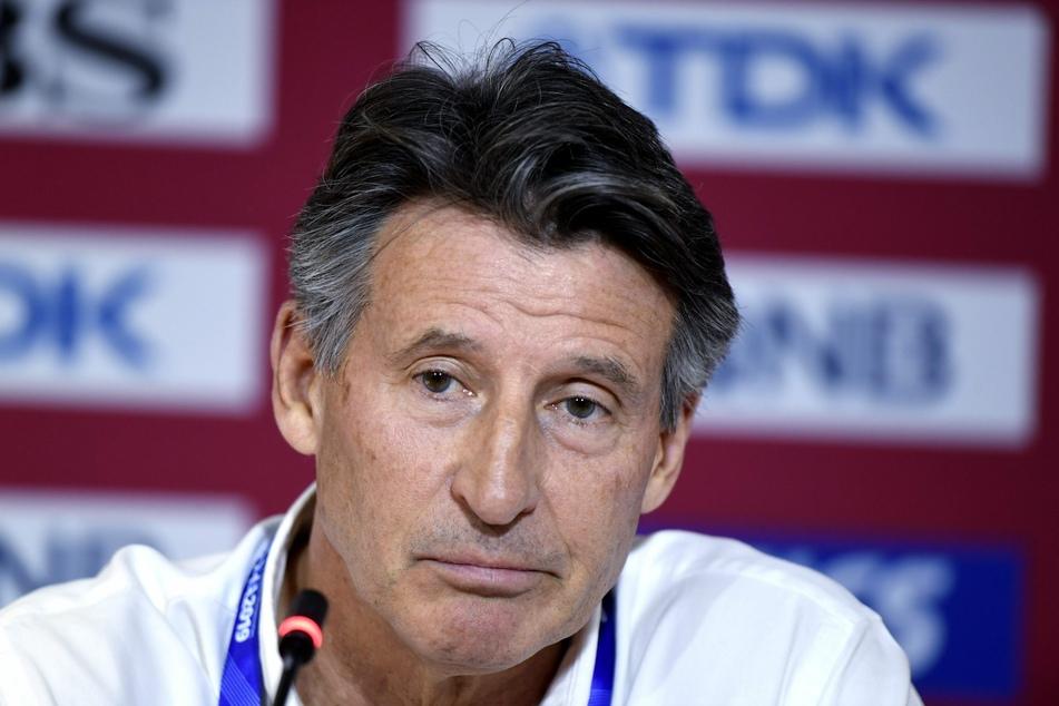 Sebastian Coe, Präsident des Leichtathletikverbands IAAF.
