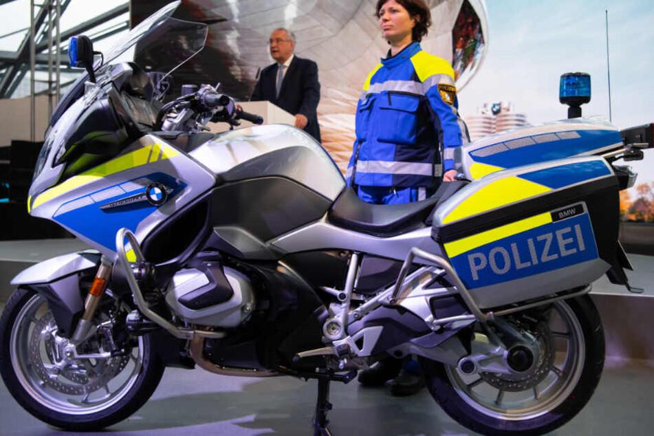 Bayerns Polizei darf sich über neue Motorräder freuen.