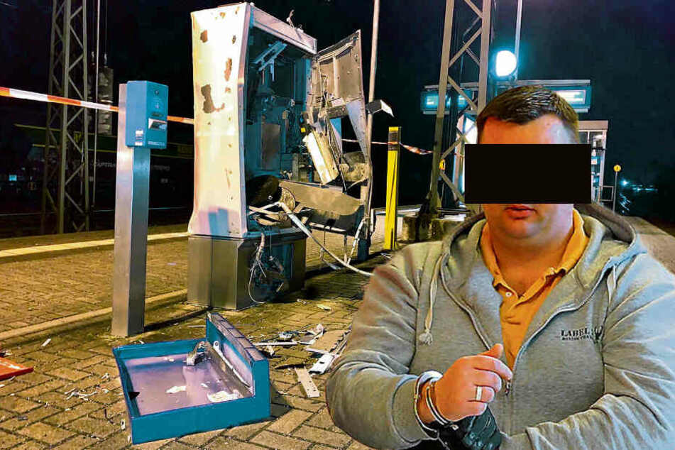 Hoher Schaden, wenig Beute: Jetzt knallt's für den Automatensprenger vor Gericht