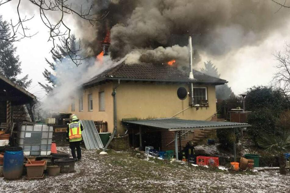 Der Bewohner des Anwesens blieb unverletzt.