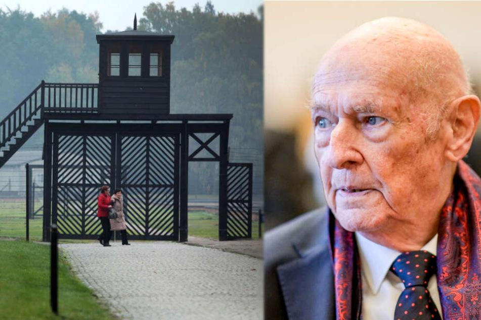 """Überlebender spricht im KZ-Stutthof-Prozess: """"Brot war im Lager Geld"""""""