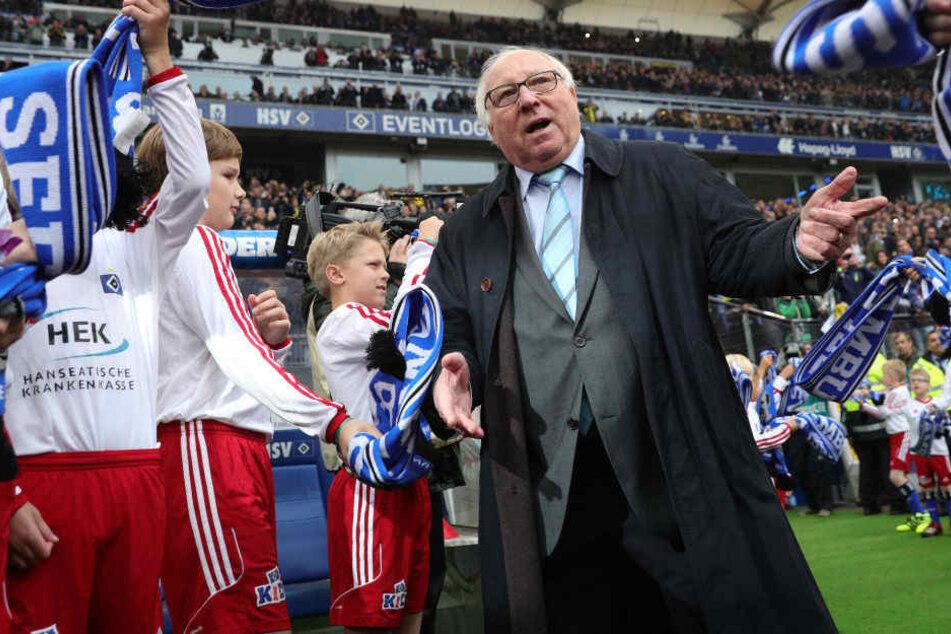 HSV-Legende Uwe Seeler glaubt nicht an den Klassenerhalt.