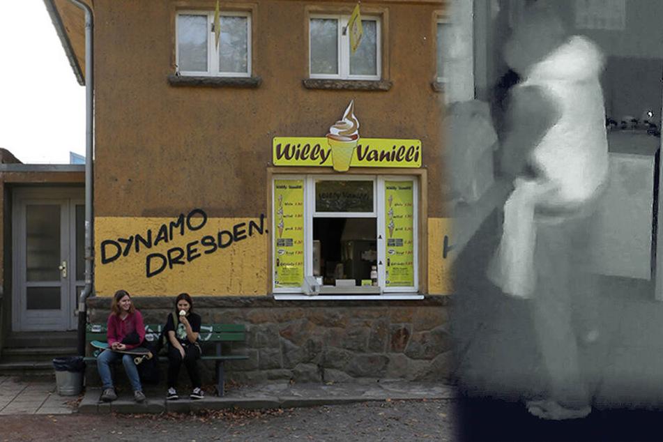 Dresden: Erneuter Einbruch bei Willy Vanilli: Täter von Kamera gefilmt
