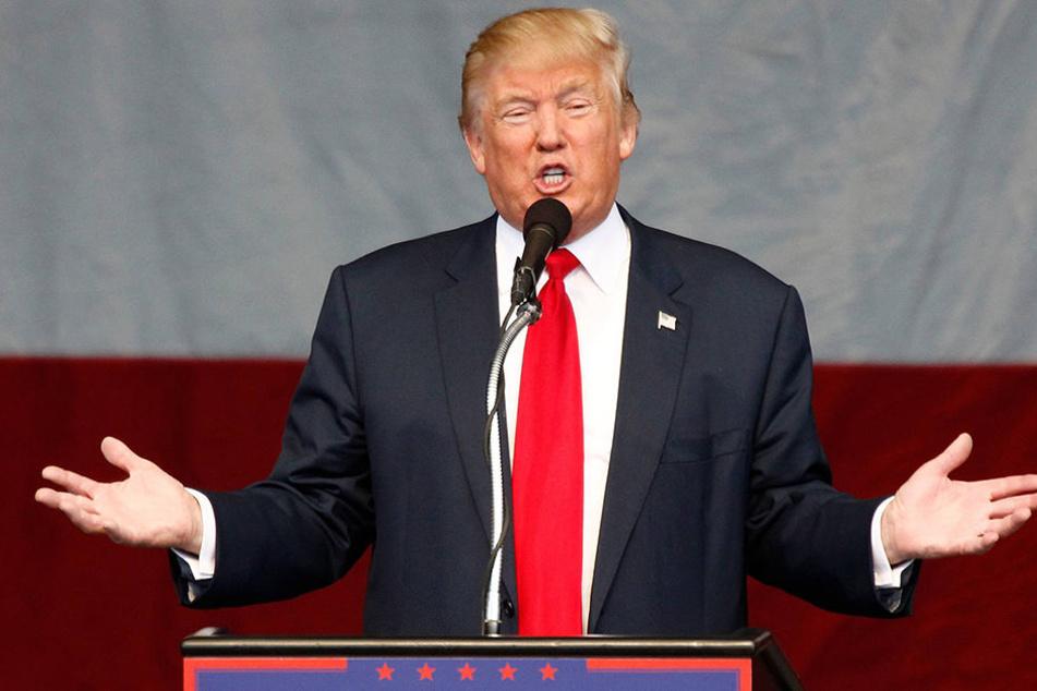 Donald Trump während seines Wahllampfes am 5. Oktober.
