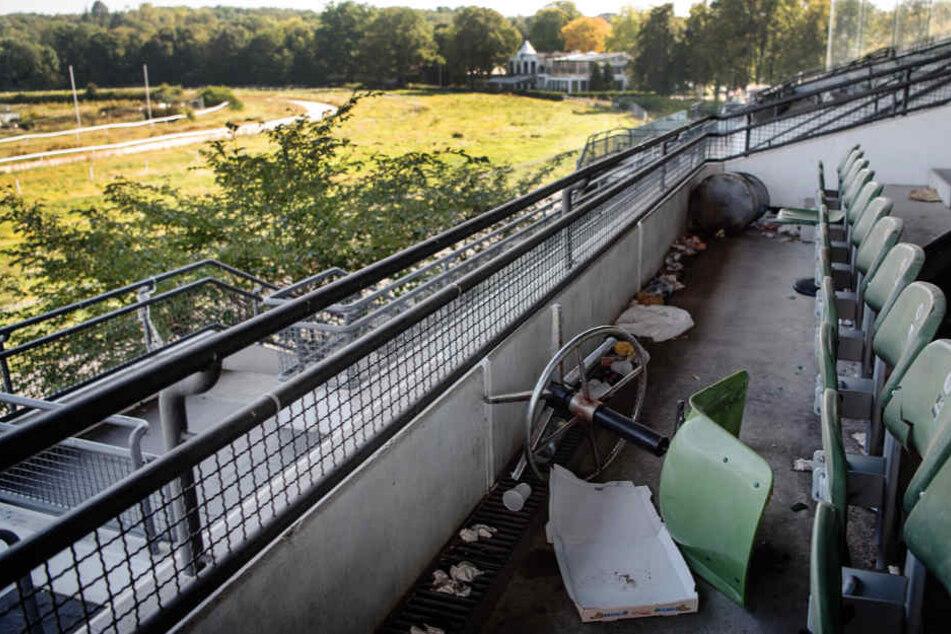 """Stadtrat Jan Schneider bezeichnete das Rennbahn-Gelände als """"heruntergekommen""""."""