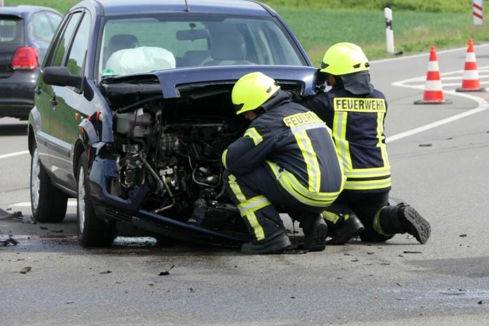 Wieder einmal ist es auf der S43 zu einem Unfall gekommen.