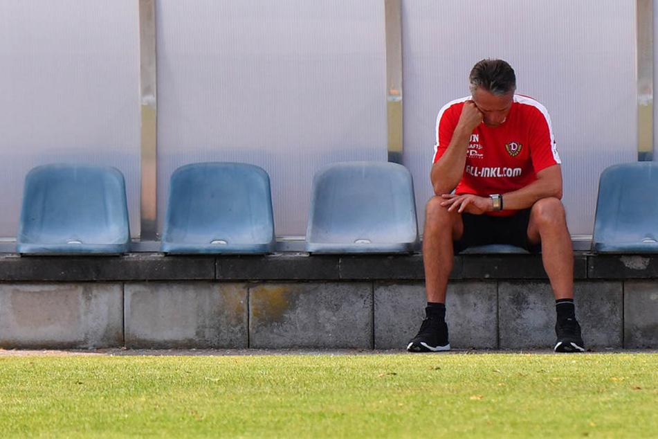 Die Zeit von Uwe Neuhaus ist abgelaufen. Nach mehr als drei Jahren wurde er als Trainer bei Dynamo entlassen.