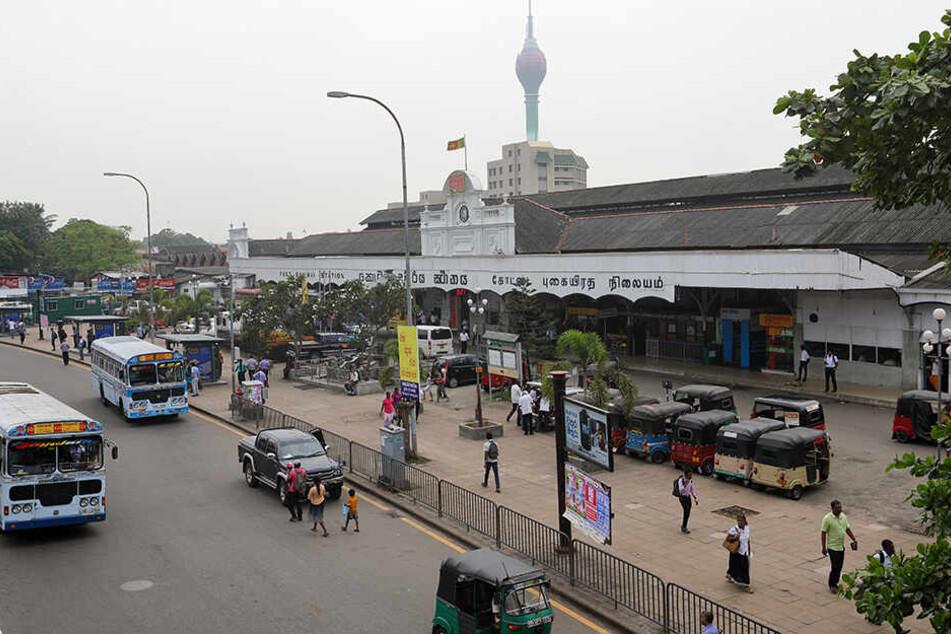 In der Hauptstadt Sri Lankas, Colombo, kam es zu dem schrecklichen Unfall.