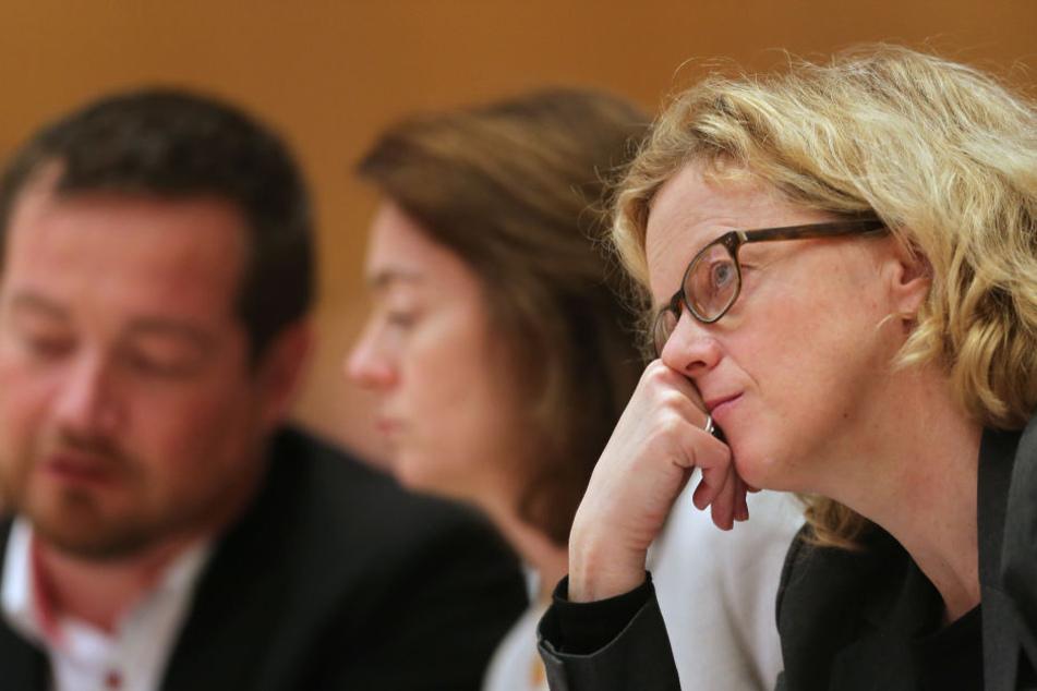 Natascha Kohnen, Vorsitzende der Bayern-SPD steht in der Kritik.
