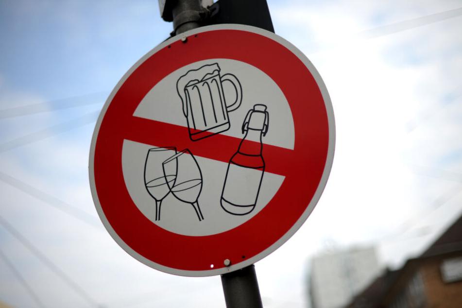 In Auerbach wurde die Alkohol-Verbotszone verlängert. (Symbolbild)