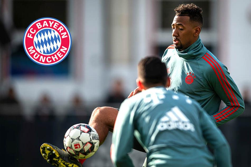 Bayern-Schock: Boateng bricht Training ab!