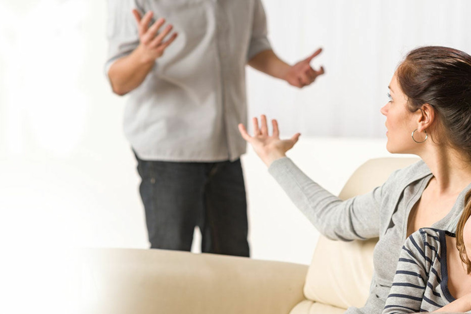 Das ehemalige Pärchen geriet in einen heftigen Streit, weil der Mann das gemeinsame Kind mitnehmen wollte (Symbolbild).