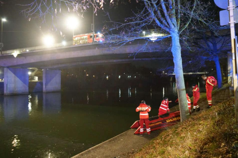 Suchaktion am Neckar: Leichnam aus Fluss geborgen