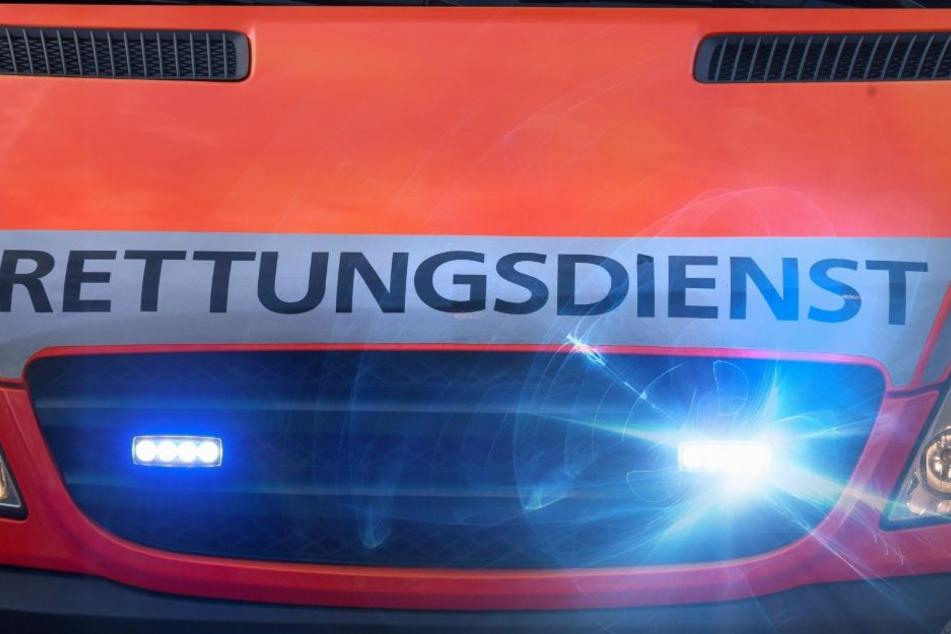 BMW prallt gegen Baum, Fahrer und Beifahrer werden schwer verletzt