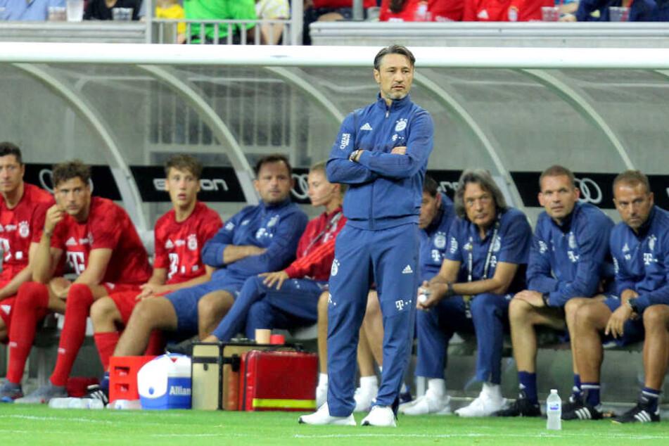 Niko Kovac beim Testspiel gegen Real Madrid in Houston, USA.