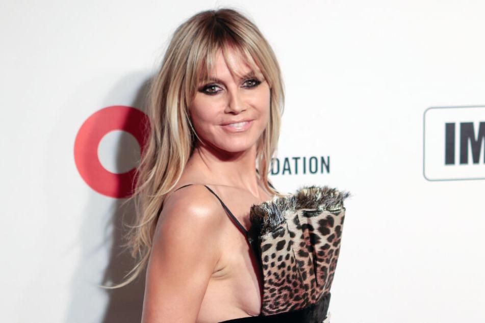 Auch Heidi Klum zeigt sich gerne mal sexy und freizügig.