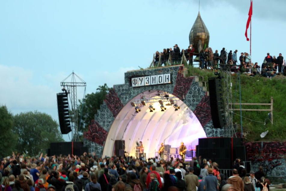 """Das Kulturfestival """"Fusion"""" ist in Gefahr (Archivbild)."""