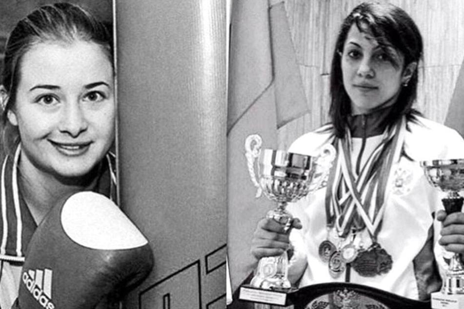 Die beiden Profisportlerinnen ertranken am Sonntag im Schwarzen Meer. Elina Gismeeva (27, li.) und Fatima Zhagupova (33, r.).