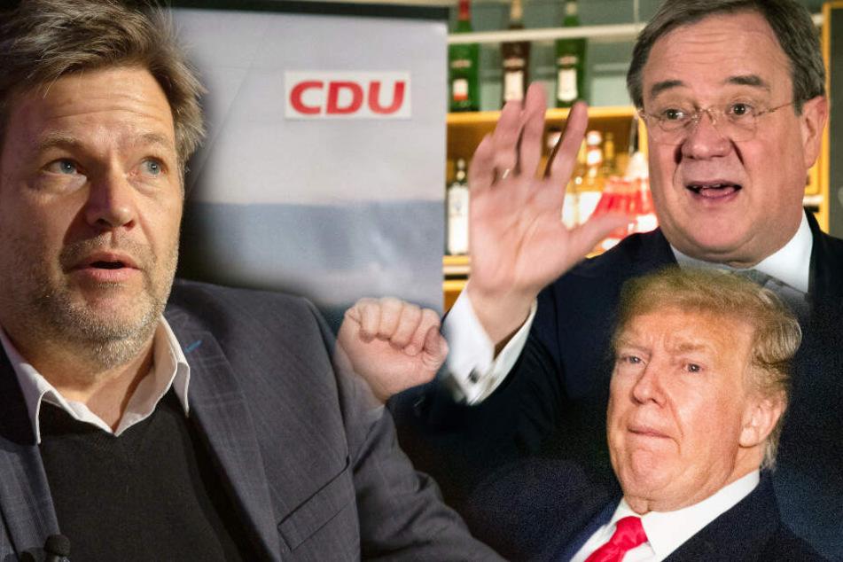 Nach Trump-Schelte: Armin Laschet poltert gegen Grünen-Chef Habeck