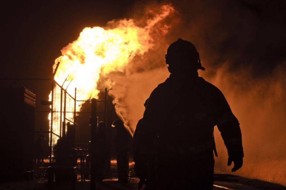 In einem Altenheim brannte es am Freitag heftig. (Symbolbild)