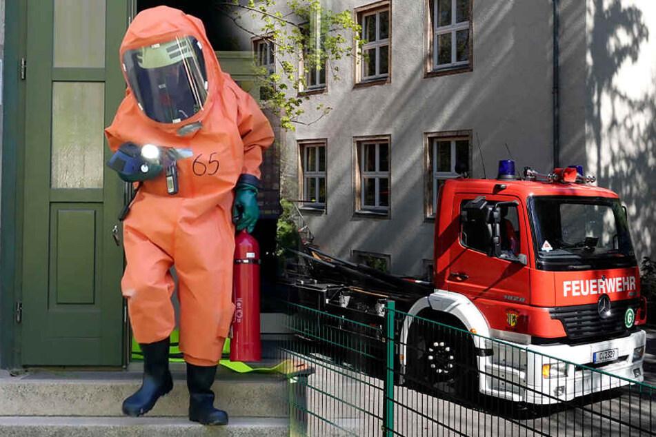 Feuerwehreinsatz in Chemnitz: Gasalarm in Kita