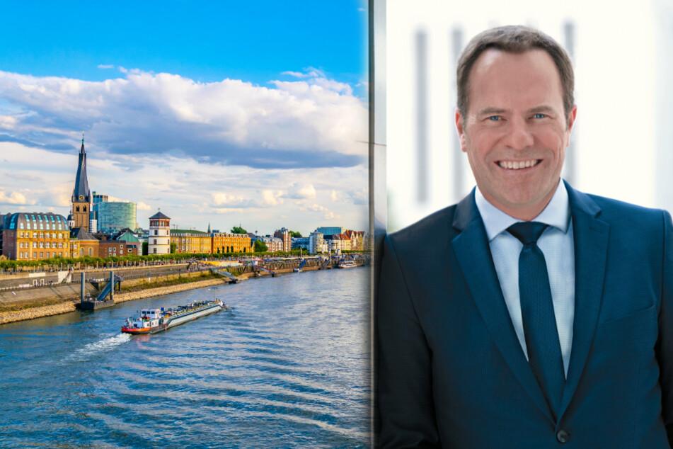 Nur gucken, nicht anfassen: Am Donnerstag soll das erste Treffen des Chemnitzer Oberbürgermeisters mit seinem Düsseldorfer Amtskollegen Stephan Keller (50, CDU) stattfinden.