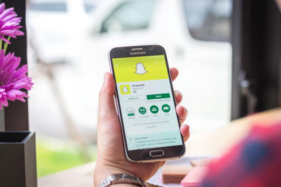 Snapchat verhinderte die Zwangs-Prostitution der 14-Jährigen (Symbolbild).