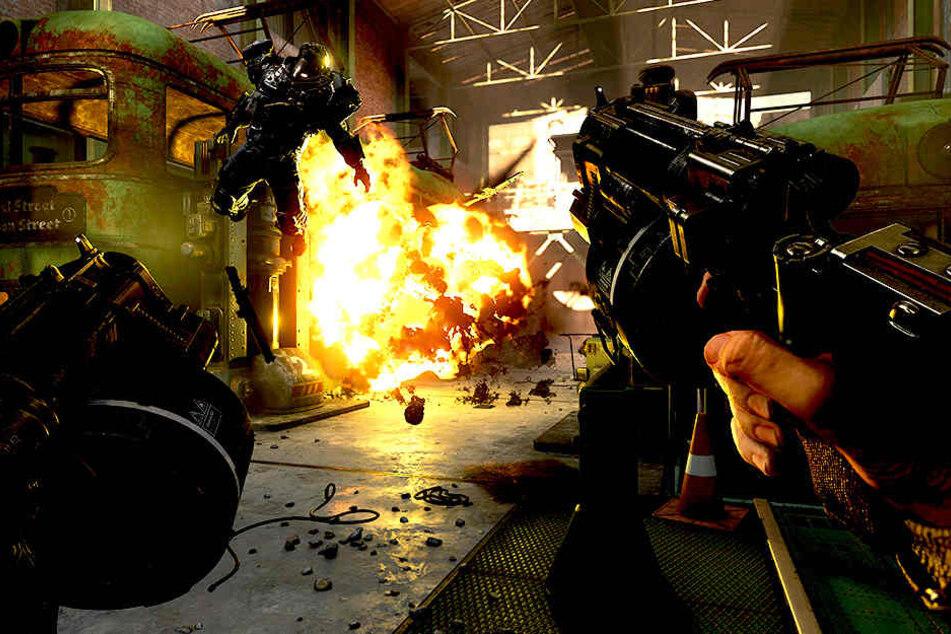 Die deutsche Version von Wolfenstein II: The New Colossus wurde für den Markt entschärft.