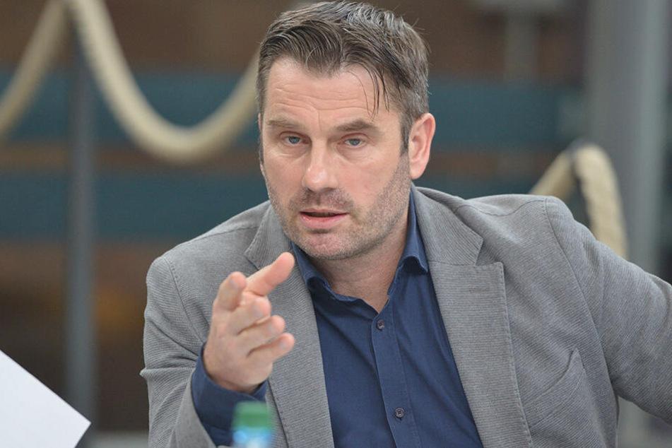 Ralf Schulze (51) ist Geschäftsführer der Chemnitzer Veranstaltungsgesellschaft C3.