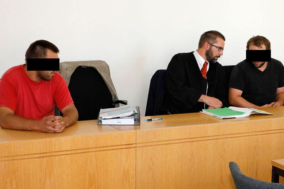 Raimondo V. (26, l.) wurde freigesprochen, Roberto V. (28, r.) wandert jetzt  hinter Gitter.